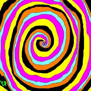swirling vortex of madness